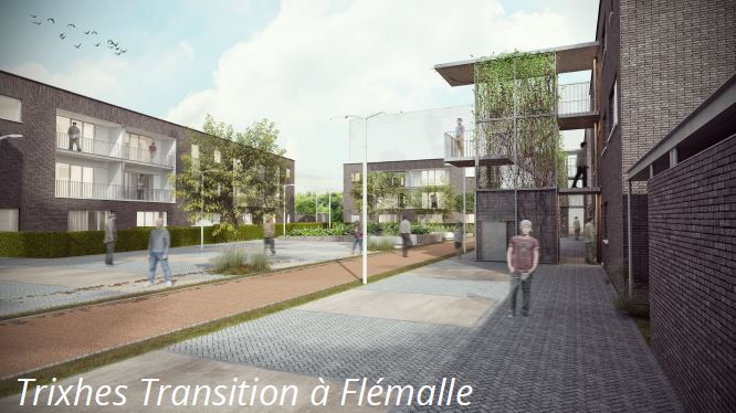 "24/05/2019 : Visite de chantier - construction de 48 logements ""équivalents passifs"" à Flémalle"