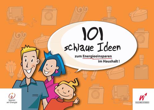 Cover 101 schlaue Ideen zun Energieeinsparen im Haushalt