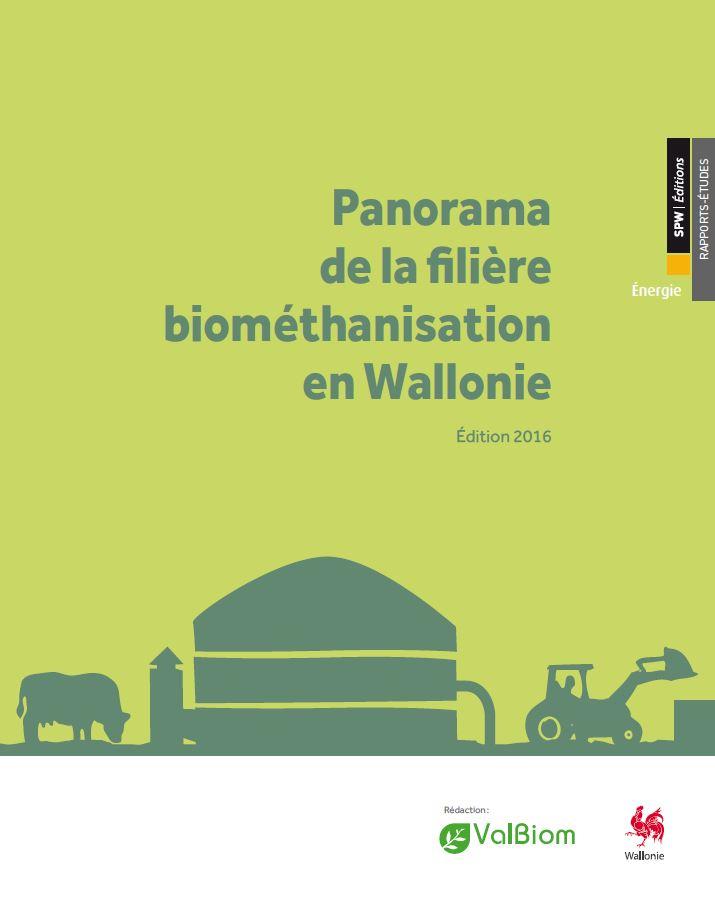 Cover Panorama de la filière biométhanisation